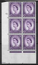 3d Wilding Violet 9.5mm Phosphor CB cyl 82 Dot perf A(E/I) UNMOUNTED MINT