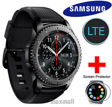 Genuine Samsung Gear S3 Frontier LTE Smart Watch SM-R765 + Free 2 Screen Guards