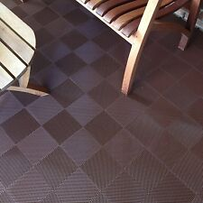 DECK AND PATIO FLOOR TILES BROWN | Made In The USA