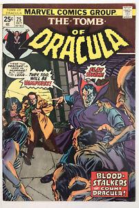 Tomb Of Dracula #25 - First Hannibal King - Marvel Comics