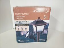 New listing Malibu Low Voltage Landscape Lighting Kit - 6 Lights, 150w Power Pack, 75 Ft Cbl