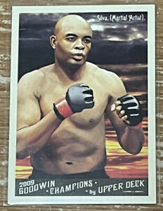 2009 Goodwin Champions Anderson Silva Rookie Card!!