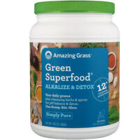 Amazing Grass Green Superfood Alkalize & Detox 1.8 lbs (800 g)
