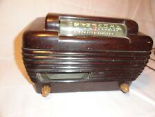 Stromberg Carlson Model 1500-H tube radio bakelite? .