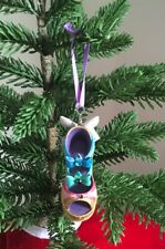 DISNEY PARKS SLEEPING BEAUTY'S FAIRY GODMOTHER CHRISTMAS HOLIDAY SHOE ORNAMENT