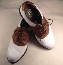 Foot-Joy DryJoys Mens Golf Oxford Shoes, Soft Spikes, Size 8.5 M