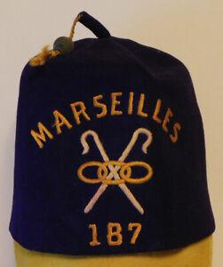 Fez Hat Shrine Marseilles 187 M. Hefter's Sons Brooklyn, N.Y.