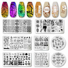 PICT YOU Nail Stamping Plates Marble Pattern Nail Art Plate  Stencil Stainless