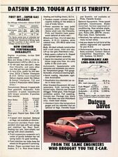1976 Datsun B-210 ad, Motor Trend - March, 1976 G+ to VG