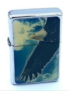 Mechero CHAMP Gasolina - Americano Águila (Original,Tempestad,Colección)