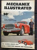 Mechanix Illustrated October 1953 Briggs Cunningham Clones Transistor Radio