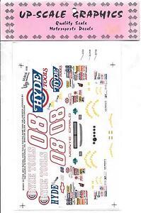 Haut Echelle, Hyde Outils, Monogramme Monte Carlo 1/24 Motorsport Décalques 114