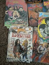 Vintage Rock And Roll Comics Lot Of 40!
