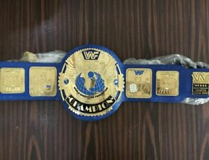 World Heavyweight Wrestling Champions Leather Belt Replica Adult Size