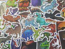 Pegatinas De Dinosaurios 25 Pack Pegar En Coche, Equipaje, portátil, teléfono, Tablet-aleatorio
