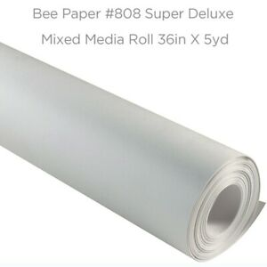 Bee Paper Super Deluxe Mixed Media Roll 36in x 5yd #808