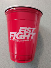 FIST FIGHT movie promo Solo Cup (4 pack) Ice Cube Charlie Day Tracy Morgan