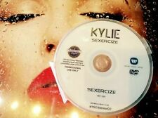 Kylie Minogue DVD single Sexercize (just one kiss) not a CD - sexy music video