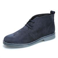 MFORSHOP scarpe uomo scarponcino camoscio para shoes polacchino vera pelle 1312