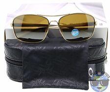 Oakley Women's Sunglasses Sanctuary OO4116-05 Gold w/ Tungsten Iridium Polarized