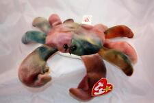 Rare 1996 Claude the Crab Beanie Baby