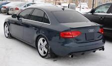 Audi A4 07-11 Rear Bumper Spoiler Diffuser twin exhaust addon SALOON AVANT S4 S