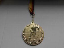 Fußball Pokal Kinder Medaillen 10 x m Deutschland-Bändern Turnier Logo Fussball Pokale & Preise