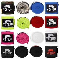 Venum Kontact Boxbandagen Handwraps 4m schwarz rot blau MMA Muay Thai Boxen