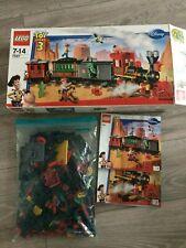 Lego Toy Story 7597-Tren De sólo 100% Completo Con Caja/instrucciones