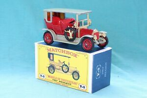 Matchbox Yesteryear Y5-3 Peugeot (1907) - Code 3 (E19)