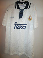 Real Madrid 1992-1993 Home Football Shirt Size Extra Large XL /24585