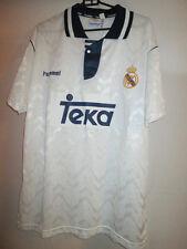 Real Madrid 1992-1993 Home Football Shirt Tamaño Extra Grande Xl / 24585
