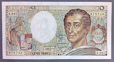BILLET Rare fauté!!! 200 francs MONTESQUIEU - 1987