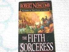 The Fifth Sorceress Robert Newcomb Fantasy Fiction PB 2003