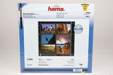 Hama Photohüllen für 120 Fotos im Format 9x13cm Packung mit 10 Blatt #2660
