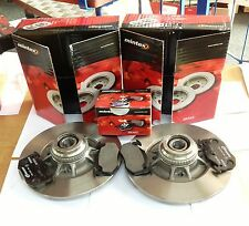 CLIO SPORT CUP 2.0 REAR MINTEX BRAKE DISCS WITH BEARINGS + ABS RING & BRAKE PADS