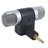 New Mini Stereo Microphone Mic 3.5mm Mini for PC Laptop Notebook Phone