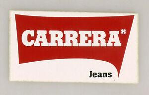 PRL) CARRERA JEANS ADESIVO COLLEZIONE STICKER COLLECTION AUTOCOLLANT AUFKLEBER