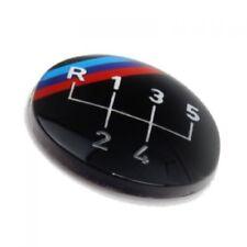Original BMW M Emblem / Aufkleber / Plakette für Schaltknauf 5 gang selbstkleben