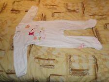 Pyjama , Fille  , Velours ,Blanc ,18  MOIS, Marque  Gémo , Excellent état