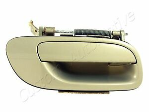 99-09 VOLVO S60 S80 V70 XC70 RH EXTERIOR DOOR HANDLE 443 passenger right outside