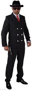 Gangster Anzug Kostüm Mafia 20 er 30 er Jahre Al Capone Ganove Gangsterkostüm