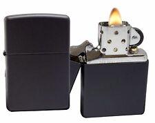 Zippo Lighter 218 Black Matte Windproof Classic Theme NEW