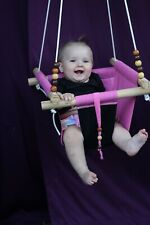 Baby Swings Color Pink. For Babies 8 Months & Above