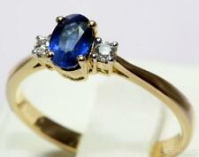 Sapphire Yellow Gold 14k Engagement Rings