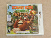Donkey Kong Country Returns 3D (Nintendo 3DS) game 2ds xl