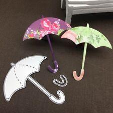 Umbrella Metal Cutting Dies Stencil for Scrapbooking Paper Embossing Card`
