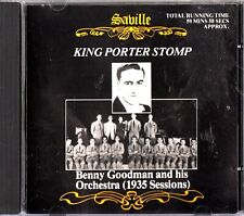 Benny Goodman And His Orchestra - King Porter Stop 1935 Session CD (1989)