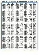 Mandolin Chord Chart for Mando Lesson G D A E