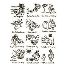 Vintage 1920s Nursery Rhymes Embroidery Pattern